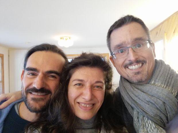 3 collègues hypnologues